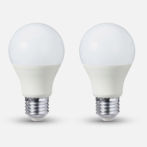 amazonbasics 2 lampadine led e27 14w 100w luce calda