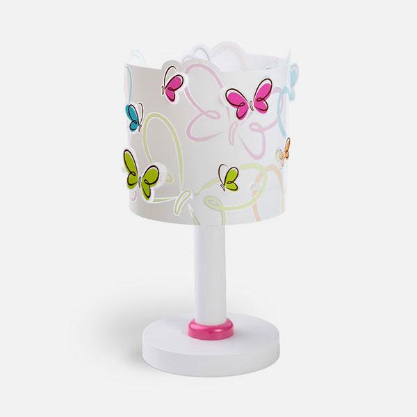 DALBER Butterfly 62141 Lampada per Cameretta da Tavolo