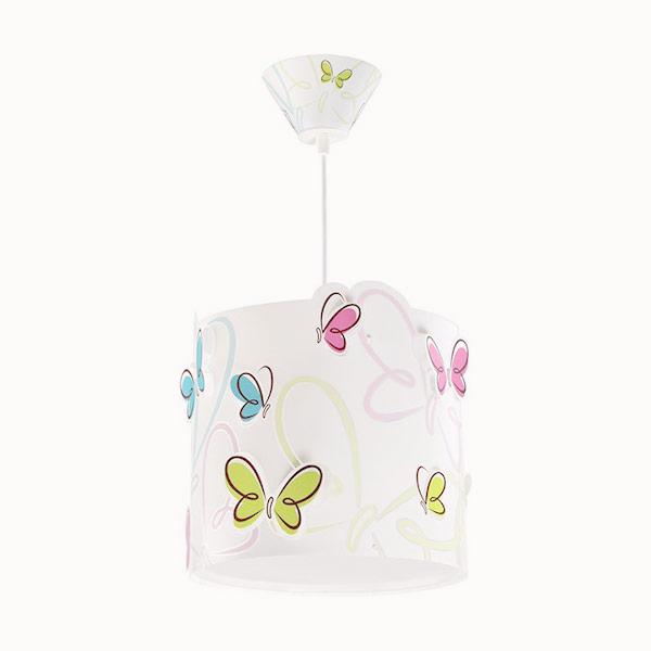 dalber butterfly 62142 lampadario per camerette farfalle