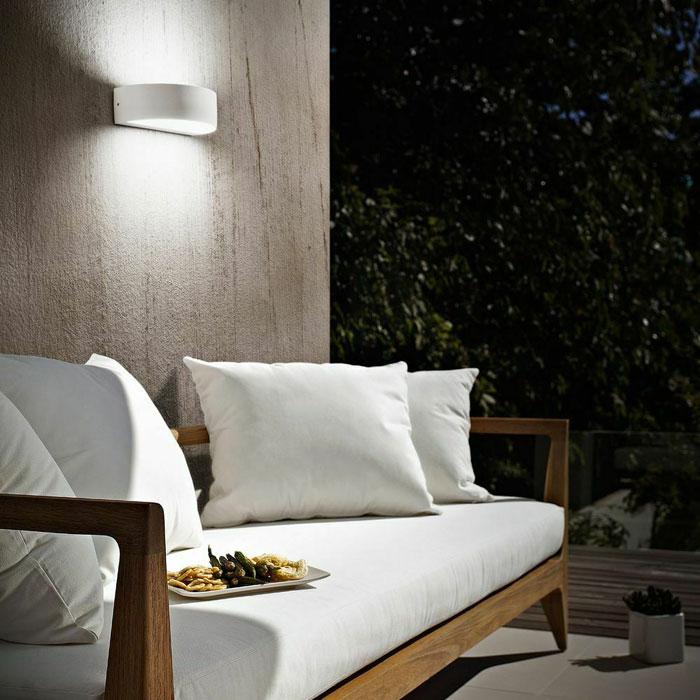 FABAS Wapi 6820-02-954 Lampada da Esterno da Parete a LED Bianco