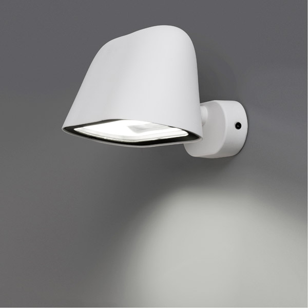 Faro sentinel 75100 lampada da esterno da parete bianco - Lampada da esterno a parete ...