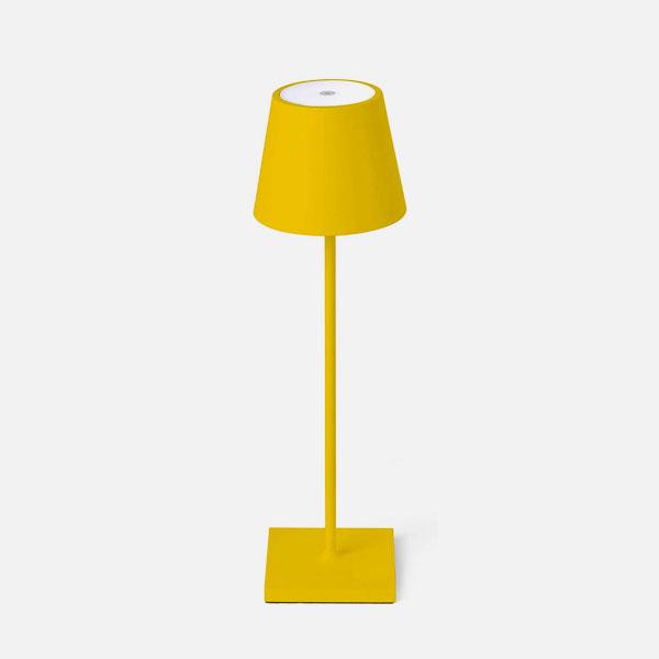 FARO Toc 70778 Lampada da Tavolo per Esterno Gialla Led