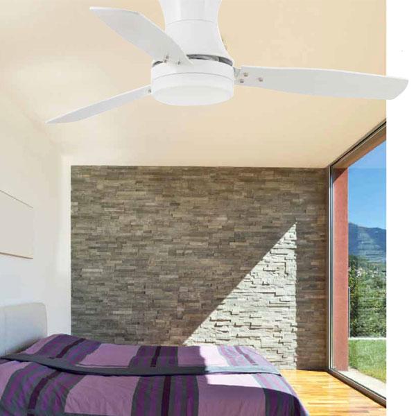 FARO Tonsay 33384 Ventilatore da Soffitto Bianco