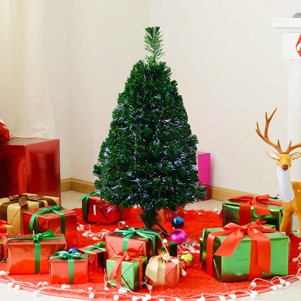 HOMCAM IT830-1760641 Albero di Natale Ecologico PVC 60cm