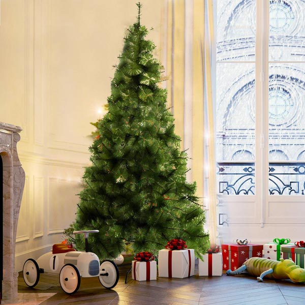 HOMCOM IT830-1370631 Albero di Natale Ecologico 210cm