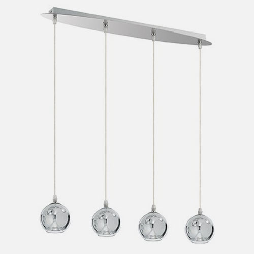 IDEAL LUX Discovery SB4 Small 149578 Lampada da Soffitto 4 Luci