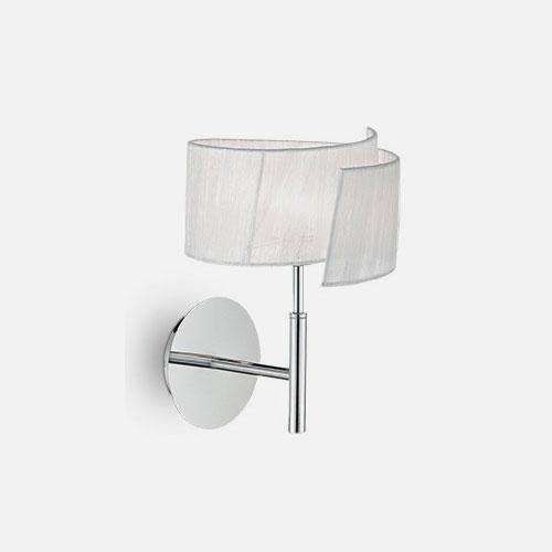 IDEAL LUX Nastrino AP1 092577 Applique Moderna Organza Bianco