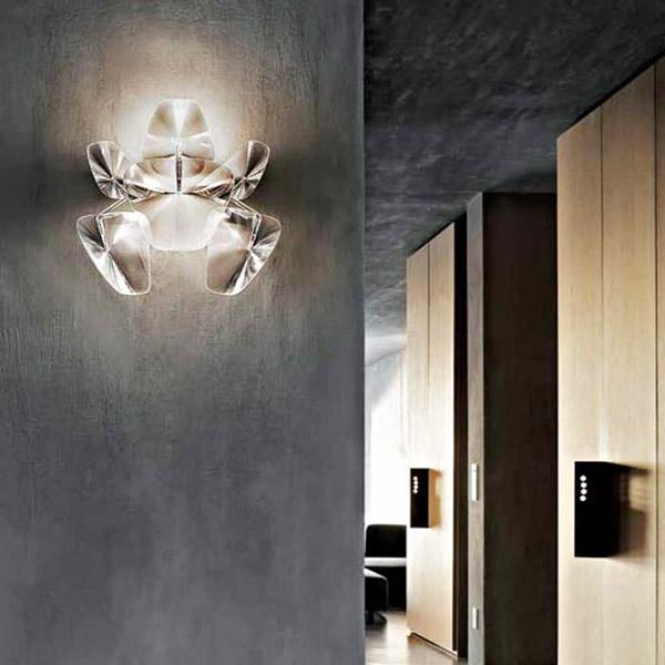 Luceplan hope d66 a3 lampada di design da parete for Hope lampadario