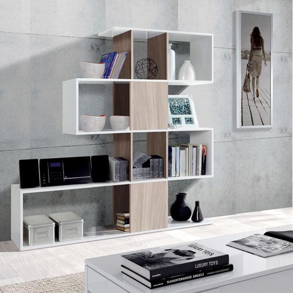 FORES Zig Zag - Libreria Moderna da Parete