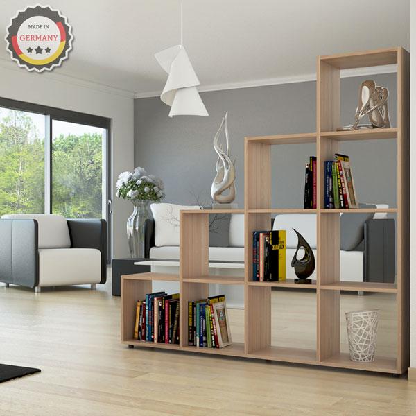 Oskar design libreria moderna da terra sonoma for Offerte librerie moderne
