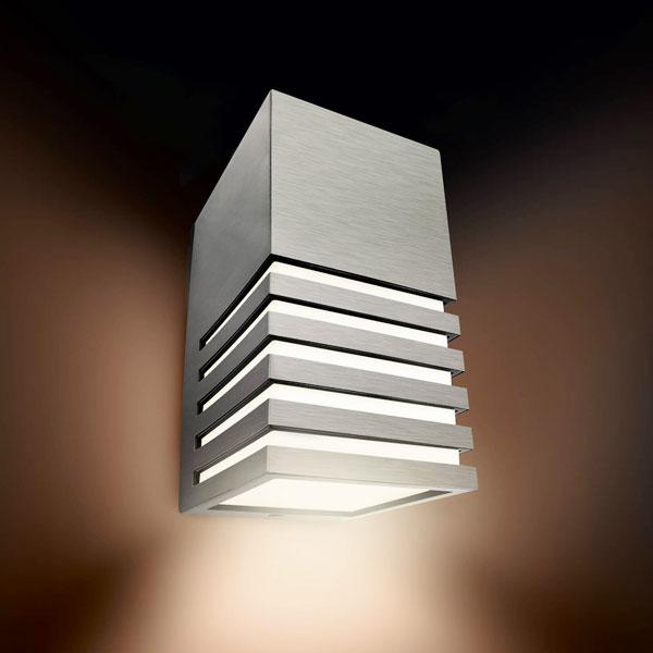 Philips veranda 164124716 lampada da esterno per parete inox - Philips lampade esterno ...