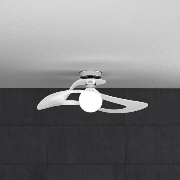 TOPLIGHT Surf 1145/PL50 BI Lampada da Soffitto 50cm Bianco