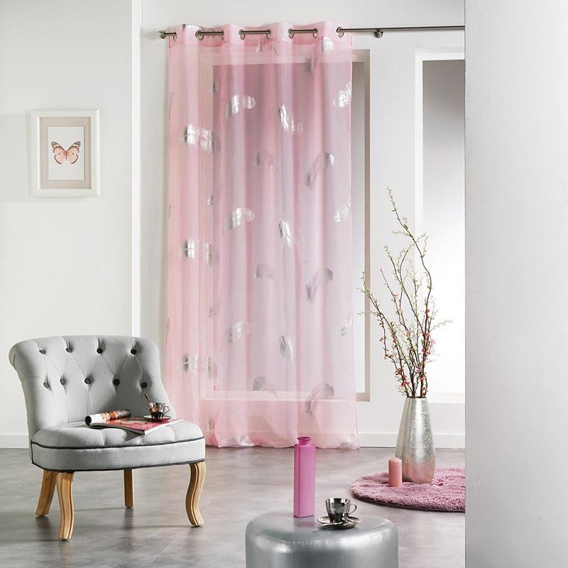 eminza plumette tenda da interno rosa. Black Bedroom Furniture Sets. Home Design Ideas