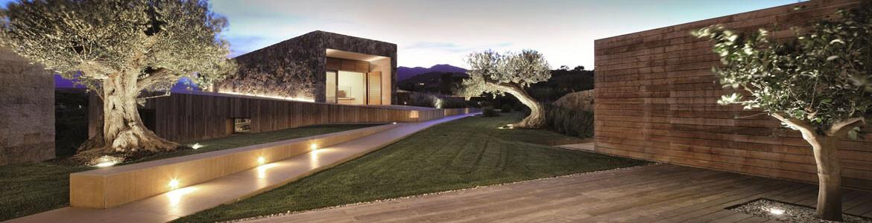 Faretti da incasso per illuminare l 39 esterno della casa for Opzioni di raccordo per l esterno della casa
