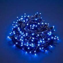 100 Luci di Natale a LED Blu 9 Mt Interno ed Esterno