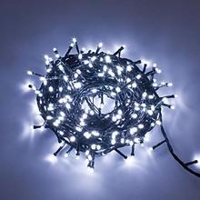 200 Luci di Natale Bianco 10 Mt Interno Esterno