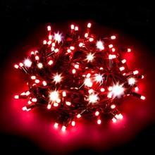 300 Luci di Natale a led Rosso 24mt Interno ed Esterno