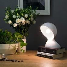 ARTEMIDE Dalu 1466000A Lampada di Design da Tavolo Vetro Bianco