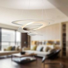 ARTEMIDE Pirce Mini LED 1256W10A Lampadario di Design Bianco