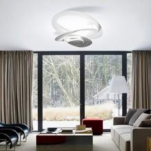 ARTEMIDE Pirce Soffitto Mini LED 1255110A Plafoniera di Design Bianco