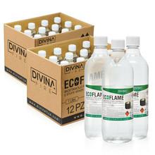 Bioetanolo per Biocaminetti 24 litri in flaconi da 1lt cad. Inodore