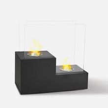 Divina Fire Atene Biocaminetto da Tavolo Nero