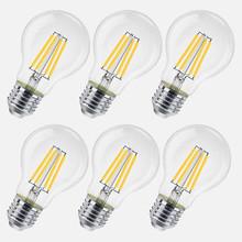 EXTRASTAR ITIT-A6012W Lampadine a LED 8w E27 Luce Calda 6 Pezzi