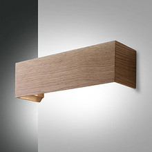 FABAS Badia 3383-21-215 Lampada Moderna da Parete a LED Quercia