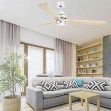 FARO Lantau-G LED 33505 Ventilatore da Soffitto con Luce Pino