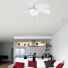 FARO Palao 33180 Ventilatore da Soffitto Bianco Ø 82