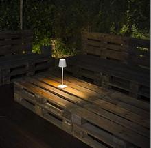 FARO Toc 70775 Lampada da Tavolo per Esterno Bianca Led