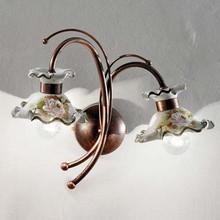 FERROLUCE Milano C1117 AP Lampada in Ceramica da Parete