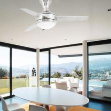 Faro Mini Ufo 33455 Ventilatore da soffitto Nichel