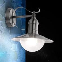 GLOBO Mixed 3270 Lampada da Esterno da Parete Acciaio Inox