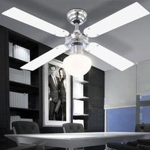 GLOBO Champion 0330 Ventilatore da Soffitto con Luce Argento/Bianco