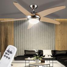 GLOBO Fabiola 0306A Ventilatore da Soffitto con Luce Acero