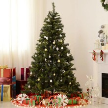 HOMCOM IT830-1850631 Albero di Natale con Luci LED 180cm