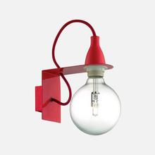 IDEAL LUX Minimal AP1 45221 Lampada Moderna da Parete Rosso
