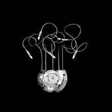 IDEAL LUX Faville AP5 000015 Lampada da Parete 5 Luci Cromo
