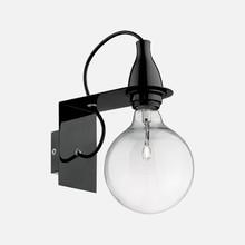 IDEAL LUX Minimal AP1 45214 Lampada Moderna da Parete Nero