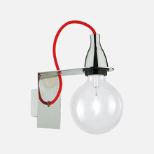 IDEAL LUX Minimal AP1 45207 Lampada Moderna da Parete Cromo