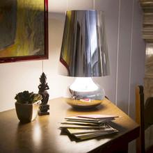 KARTELL Cindy 9100M1 Lampada di Design da Tavolo Platino