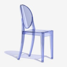 KARTELL Victoria Ghost 4857/P2 Azzurro Set 2 Sedie