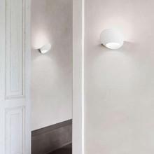 LUCEPLAN Garbì 1D900AW0002 Lampada Design da Parete LED Bianco