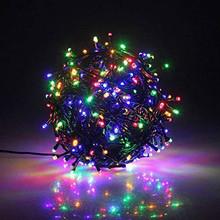 Luci di Natale 300 LED Multicolore 8 giochi di luce per Interno ed Esterno
