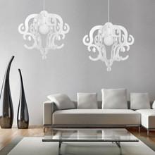 NOWODVORSKI Katerina 5208 Lampadario Moderno in Acrilico Bianco