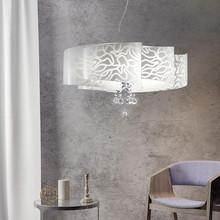 SIKREA Ventaglio S 3751 Lampadario Moderno con pendenti Cristallo