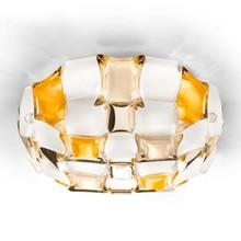 SLAMP Mida Amber 50cm Lampada da Soffitto Ambra a LED