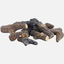 Legna Decorativa in Ceramica per Biocaminetti Set 10 pezzi