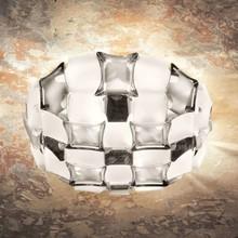 SLAMP Mida White/Platinum 50cm Lampada da Soffitto a LED